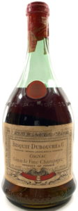 Numbered bottle (No.68); St. Martial emblem on shoulder, 4/5 quart 80proof (est. 1940s)