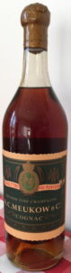 Different model bottle; 1912, for the 50th anniversay of Meukow