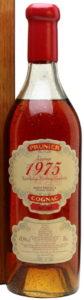 1975 Vintage borderies, red capsule; 43.9%
