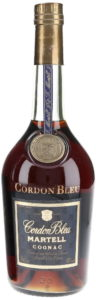 dark blue label; '70cl e' stated in the left bottom corner