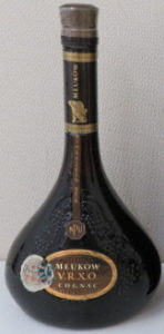 VRXO NPU Brown label and brown neck; Asian import with a Duty Free sticker, 75cl stated on back; 1984