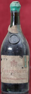 Grande Fine Champagne Napoleon, 80 ans; bottled end 1930s (wax added later?)