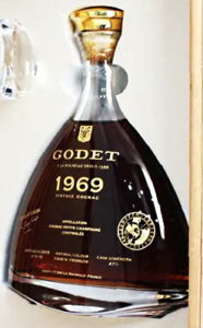 1969, 70cl 47% petite champagne; 10 bottles made (2019)
