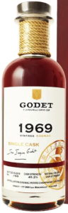 1969 petite champagne, 49.2%, 50 years old (2019), 60 bottles made