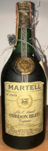700cc stated, address and bottled in France on two lines; Italian import, Spirit SPA (1978)