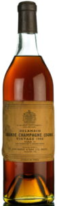 1906 Delamain for Harvey & Sons, bottled in 1957 (by appointment to Her Majesty Queen Elizabeth II)