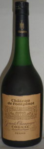 Chateau de Fontpinot, grande champagne; Frapin named on the label and on the cap; 41° and 70cl stated