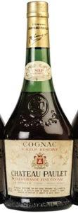 VSOP réserve, très grande fine cognac; 40°G.L stated