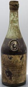 Old bottle: Borderies Très Vieilles; J.M. Lacroux stated