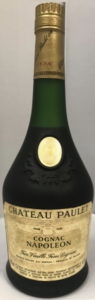 'Cognac Napoleon' lower on the label; 'Chateau Paulet'; paper shoulder label