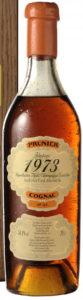 1973 Vintage petite champagne, 58,8%, bottled 2009