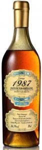 1987 petite champagne, bottled 2020