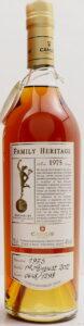 Family Héritage, 1975 bottled 2012, 'Ultimate Anniversary Batch'