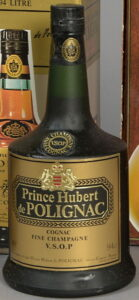 On shoulder label: Fine Champagne above VSOP Cognac; 94cl stated