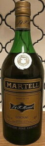 Very special cognac stated in emblem and grande fine cognac below (1970s, 1980s?)