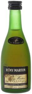 50ml in bottom left; 40%Vol in bottom right; 'fine champagne cognac' printed wider; Französisches Erzeugnis