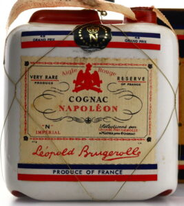 "With the French flag; Very Rare Réserve, ""N"" Impérial; 73cl content on the back (1970s according to auctioneer)"