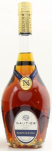 70cl and 40%vol stated; vieille fine cognac on two lines; blue ribbon