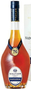70cl and 40%vol stated; vieille fine cognac on two lines; blue ribbon and blue capsule (2020s)