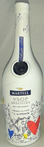 VSOP Montmartell by Castelbajac, 70cl e on the front