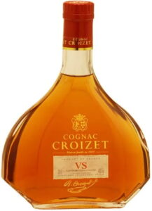 With product of France on the upper edge of the label; 70cl