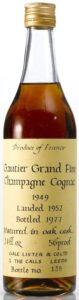 1949, landed 1952 and bottled 1977