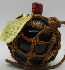 70cl (stated below) Boule de pêcheur Prestige; red stopper and ecru rope