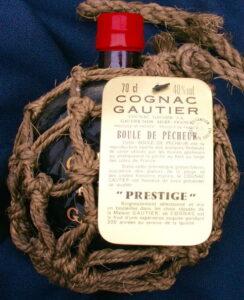 70cl Boule de pêcheur Prestige; red stopper and ecru rope