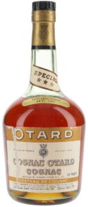 Special XXX on neck label; a sticker: not less than 24 FL.OZS; an emblem on the capsule; 70°Proof (1960s)