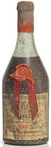 1889 Vieille Fine Champagne, with red wax in the blob