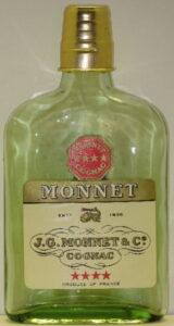 Four star cognac, half bottle (35cl?)