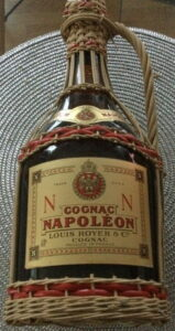 Napoleon as a basket bottle