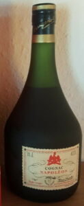 70cl, dark green glass, with a cotisation mark