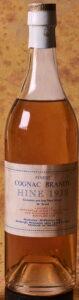 1938 finest brandy; not less than 24 ozs, 65°Proof, landed 1939, bottled 1969