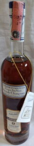 Royer collection distillerie Les Magnolias, grande champagne  wtith a paper duty seal, Italian import