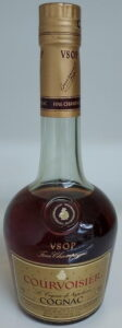 Four lines of text below Cognac: 70cl Singapore import; Asian text on the back side