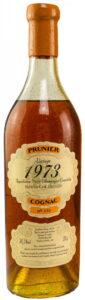 1973 Vintage petite champagne, 58,3%, bottled 2009