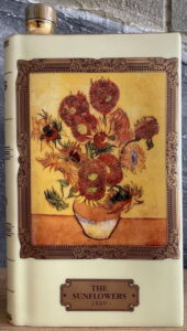 Van Gogh: The Sunflowers; 70cl (70cl's bottles are in a box with just the one painting of the sunflowers)