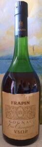 Frapin on top of the label; 70cl VSOP fine champagne (1970s)