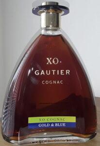XO Gold & Blue, Gautier printed between XO and Cognac, 70cl