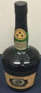 700ml, 3 stars on the neck label, fine cognac; Asian import
